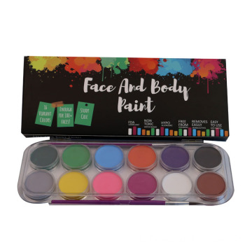 FDA Food Grade Rainbow Face Face Paint